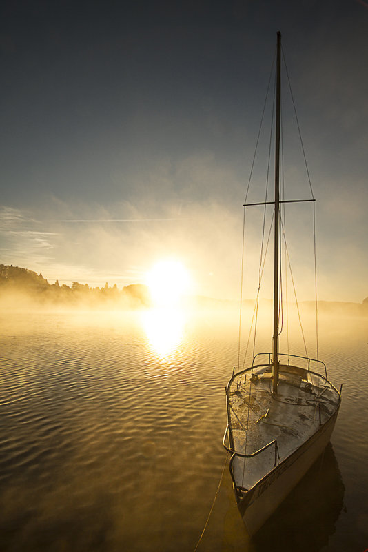 Patrice GARRIGUES voilier au repos